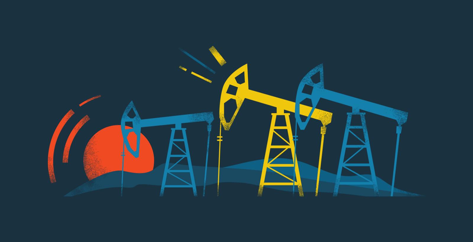 Нефтегаз рейтинг иллюстрация